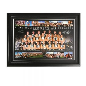 Collingwood FC – 1990 Premiers Print Signed By Peter Daicos