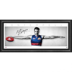 Western Bulldogs – Marcus Bontempelli Signed Wings
