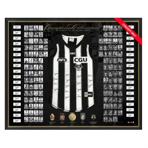 Collingwood 125th Anniversary Signed 'Champions Of Collingwood' Guernsey