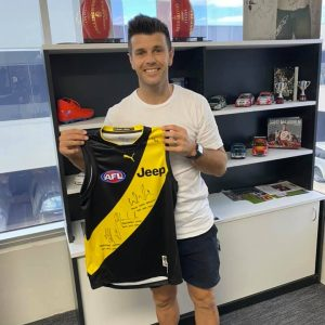 The Ultimate Tigers Jumper Personally Signed By Dusty, Cotchin & Hardwick